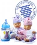 Вода, очищенная фильтрами АКВАФОР, рекомендована для детского питания.